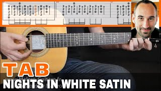 Nights In White Satin Guitar Tab