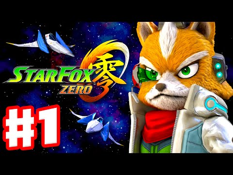 Star Fox Zero - Gameplay Walkthrough Part 1 - Intro and Corneria (Nintendo Wii U)