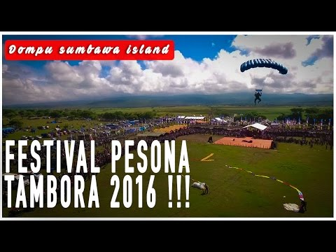 Festival Pesona Tambora Dompu NTB