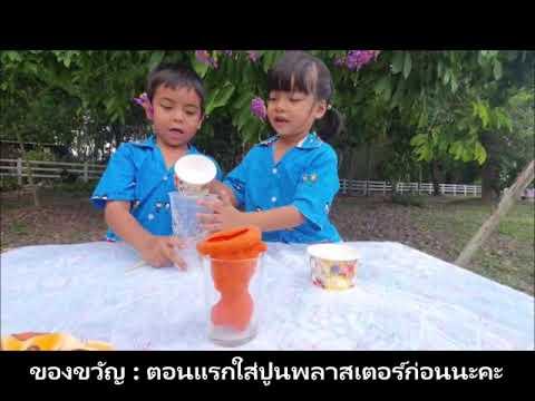 โครงการบ้านวิทยาศาตร์น้อย เรื่อง ตุ๊กตาสีขาว-โรงเรียนวัดสามผาน ปีการศึกษา 2563