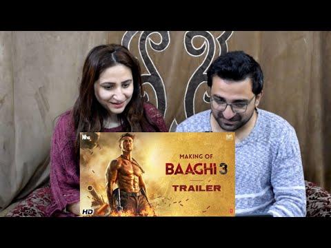 Pakistani React To Making Of Baaghi 3 Trailer   Tiger Shroff  Shraddha Riteish  Sajid Nadiadwala  