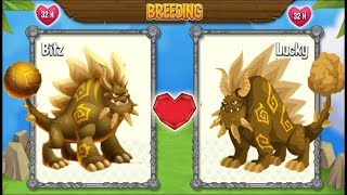 New Flame Dragon vs Flame Dragon | Dragon City [EXCLUSIVE BREEDING DRAGON]