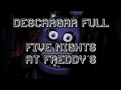 Descargar Five Nights at Freddy´s Full.-Tutorial