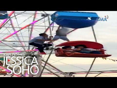Kapuso Mo, Jessica Soho: Bata, nahulog at lumambitin sa ferris wheel