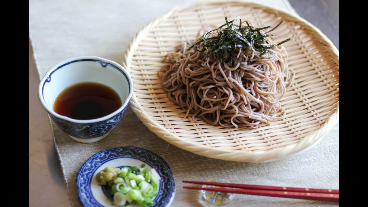 Zaru Soba Recipe Japanese Cooking 101 Youtube