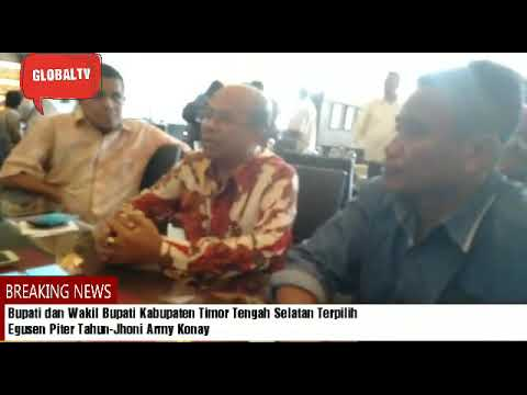 Bupati Dan Wakil Bupati Kabupaten TTS  Terpilih, Egusem Piter Tahun-Jhoni Army Konay