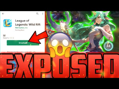 LOL MOBILE WILD RIFT REASON WHY THERE STILL NO EXACT RELEASE DATE EXPOSED - LEAGUE OF LEGENDS WR