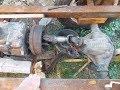 Поделки - Самодельный трактор.Процесс сборки.Установка кардана.#31