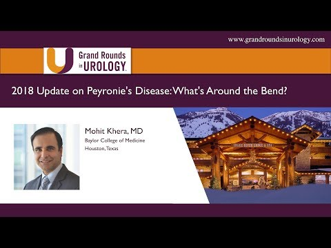 2018 Update on Peyronie's Disease - What's Around the Bend