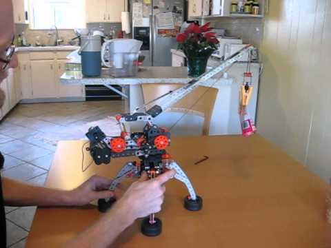 a fun Erector Set crane