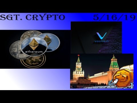 ETH Better Than VeChain, No Regulations In Russia, Bitcoin To 100K