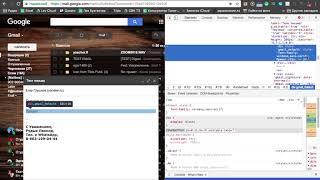 Как отправить HTML письмо через Gmail?