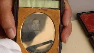 Cased Images  Daguerreotypes and Tintypes