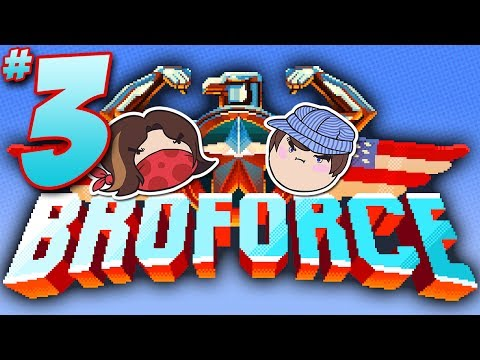 Broforce: I Got You, Bro - PART 3 - Steam Train |
