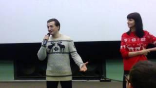"""Сергей Безруков о фильме """"Млечный путь"""" (28.12.2015)"""