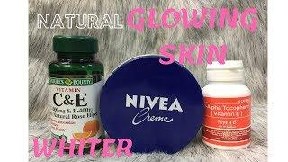 NIVEA Creme for Natural Glowing  Whiter Skin|Tagalog