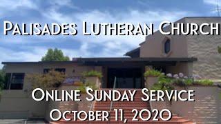 PLC Online Sunday Service 10.11.20