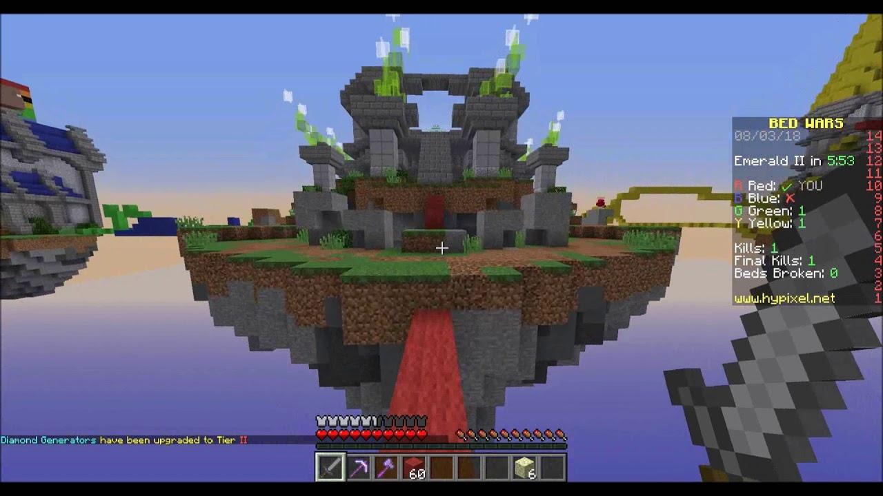 PARTITA IN TIME LAPSE   Minecraft Bedwars