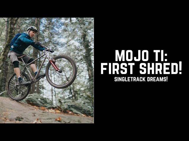 The full Mojo Ti bike check!
