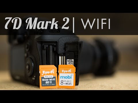 7D Mark II  - Wifi Option