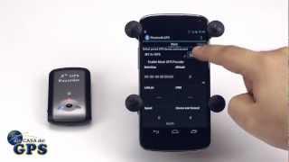 Como enlazar un GPS Bluetooth con un dispositivo Android