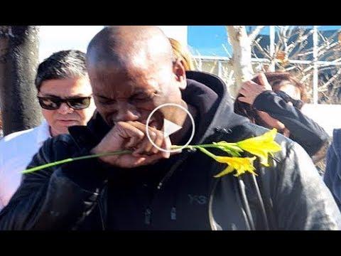 Paul Walker Funeral   Tyrese Gibson Cries And Vin Diesel