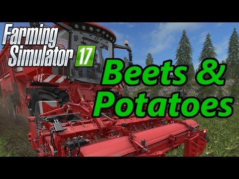 Farming Simulator 17 Tutorial | Beets & Potatoes