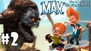 Efeito Dominó Max the Curse of Brotherhood ( legenda Português PT-BR)