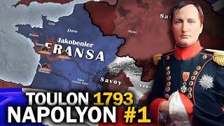 NAPOLYON BONAPART || Fransız Devrim Savaşları || 1793 Toulon || DFT Tarih