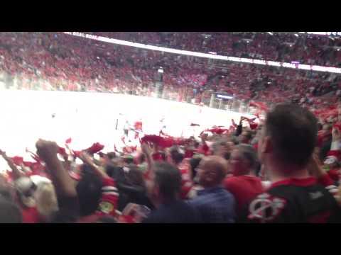 Chicago Blackhawks GOAL vs. LA Kings, Patrick Sharp, 2013 Playoffs, Rd3 Gm1