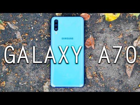 Samsung Galaxy A70 - Обзор