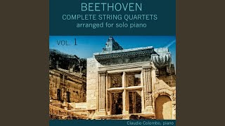 Quartet in G Major, Op. 18 No. 2: IV. Allegro molto quasi Presto (Arranged for solo piano by...