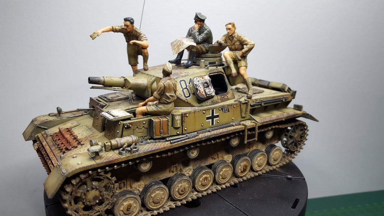 Panzer IV Ausf  D Tamiya 1:35 Part 2