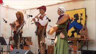 Muziekgroep Krebbel op Historisch festival Urmond 2013