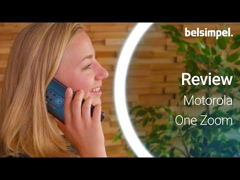 Goed zoomen met deze Motorola  | Motorola One Zoom Review