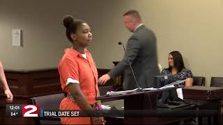 Trial date set for woman accused of stabbing her mother to death