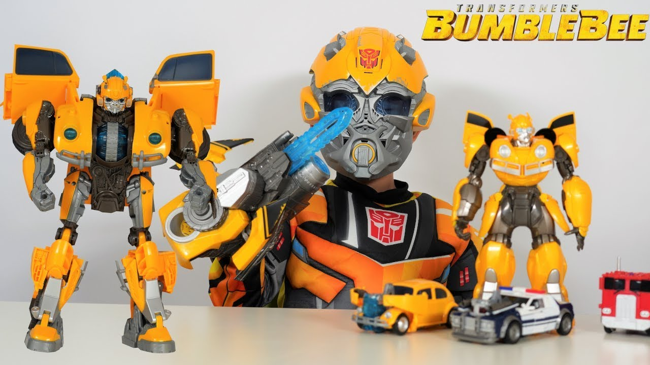 Biggest Transformers Bumblebee Movie Toy Collection Unboxing With Ckn Toys Youtube