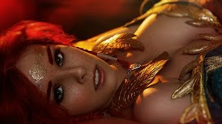 Powerful Vocal Music: DARK FIRE | by Mike Rubino feat. Ana Free (Lyrics)