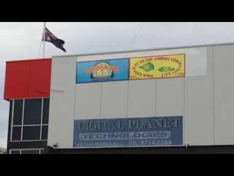 2016-09-14 - 0507 UTC -  Radio Le Manamea Samoa 151.650 MHz in Sydney Australia