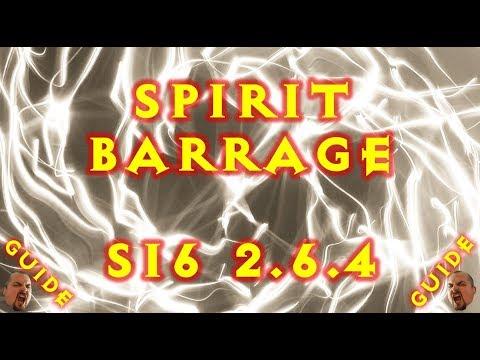 Diablo 3 LoN Spirit Barrage Witch Doctor Build S16 2.6.4