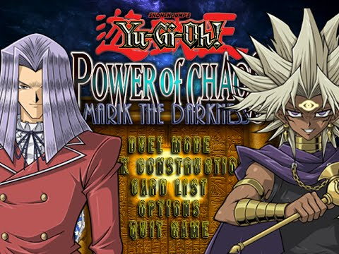 yu gi oh power of chaos marik the darkness full card