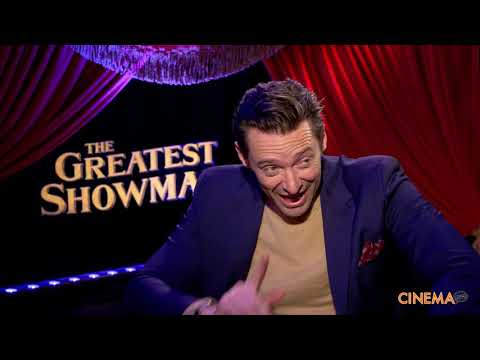 """Hugh Jackman Interview for """"The Greatest Showman"""""""