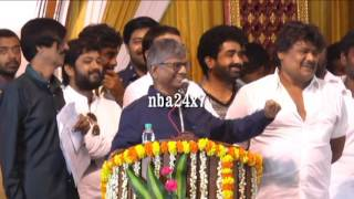This is a good start to Tamil Film Industry : S.A.Chandrasekhar | nba 24x7