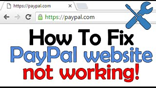 Cannot Go To PayPal Website [Solved]