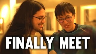 Imaqtpie - MEETING THE 2ND BEST ADC IN LEAGUE! VLOG #1