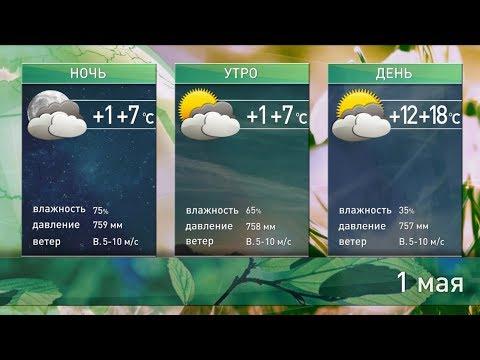 Прогноз погоды на 1 мая: без существенных осадков