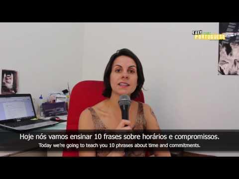 Tiếng Bồ Đào Nha bài 13