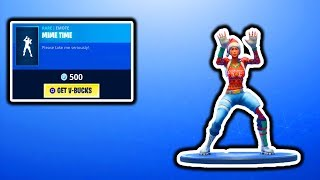 FORTNITE NEW MIME TIME EMOTE! FORTNITE ITEM SHOP UPDATE! SEASON 7 BATTLE PASS GIVEAWAY