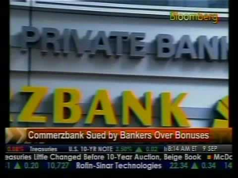 Commerzbank Sues By Bankers - Bloomberg