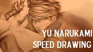 Yu Narukami Persona 4 Speed Drawing